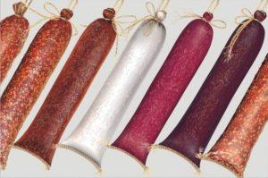 Цвет колбас